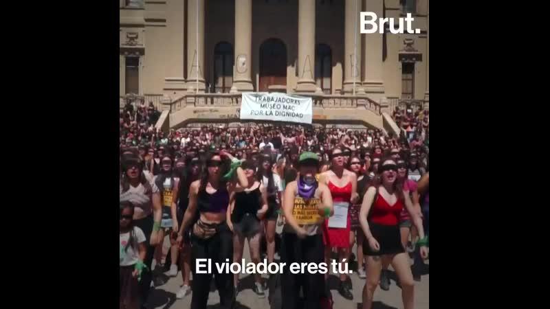 El violador eres tú. Este himno de lucha feminista chileno ha dado la vuelta al mundo. .mp4