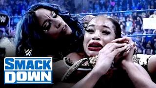 #SBMKV_Video | Relive Sasha Banks returning to trick Bianca Belair: SmackDown, Aug. 6, 2021