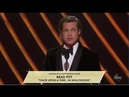 Oscars Awards 2020 Best Supporting Actor Brad Pitt Once Upon a Time in Hollywood as Cliff Booth