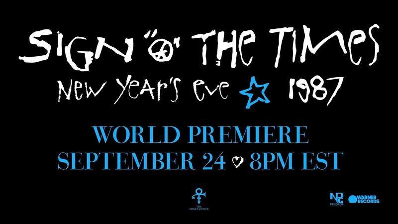Prince Sign O' The Times Live at Paisley Park 12 31 87 World Premiere