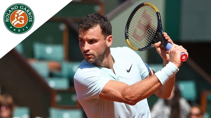 Grigor Dimitrov vs Mohamed Safwat Round 1 Highlights Roland Garros 2018