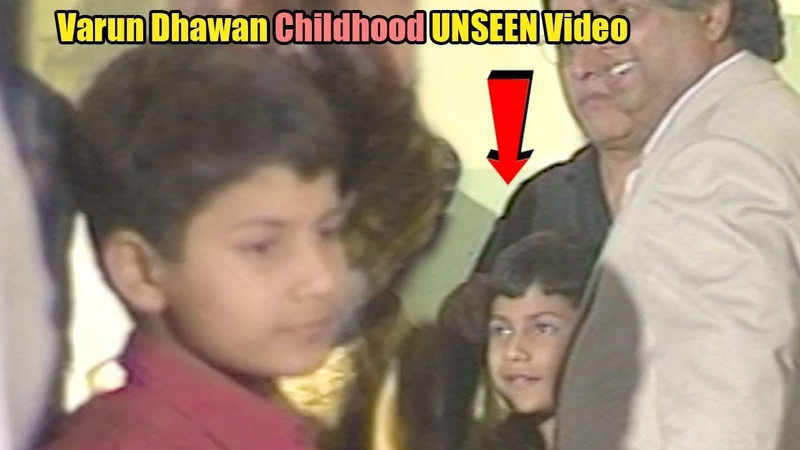 CUTE Varun Dhawan's CHILDHOOD UNSEEN Video Bade Miyan Chote Miyan Bollywood Flashback