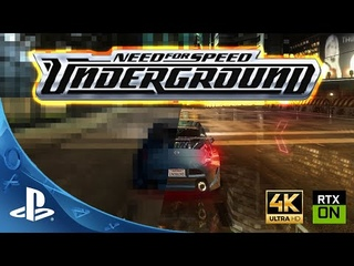 Need for Speed : Underground 4K | Classic Games with Ray Tracing!