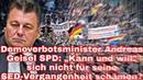 """Demoverbotsminister Andreas Geisel SPD: """"Kann und will"""" sich nicht für seine SED-Vergangenheit..."""