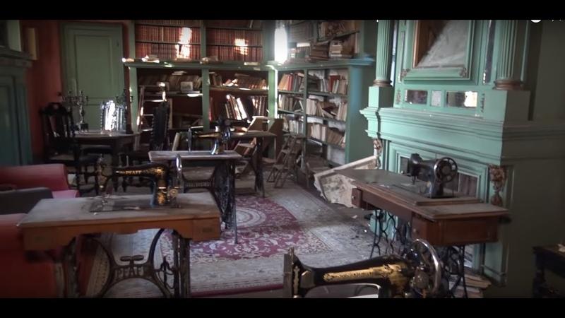 Восхитительный секретный заброшенный Замок Антиквариат Капсула времени