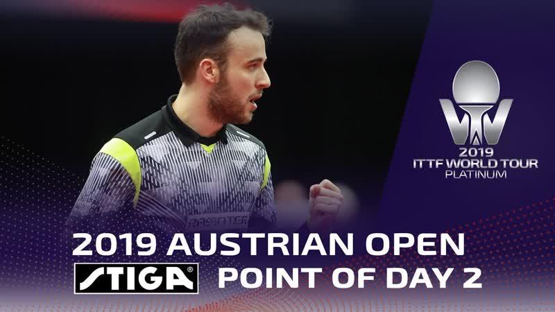 Stiga Point of Day 2 Austrian Open 2019