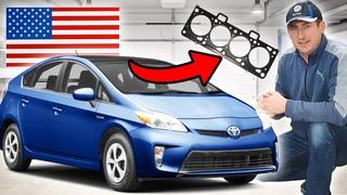 Toyota Prius 2015 Перегорела прокладка ГБЦ/итог гидроудар