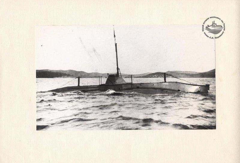 Фотография подводной лодки «Сом». Из собрания Музея истории подводных сил России им. А.И. Маринеско.