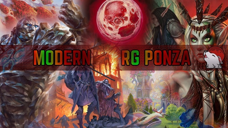 💥 Modern RG Ponza 🔴🟢 Karnza Post Ban Destroying Lands Klothys Watches our Destiny