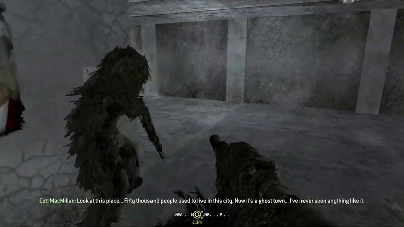 Call of Duty 4 Modern Warfare - Всё в камуфляже
