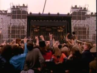 Фестиваль МОНСТРЫ РОКА в Москве.Тушино,1991 г