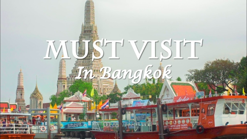 Bangkok Must Visit Places / Top Tourist Attractions Thailand / Temple of Dawn Wat Arun