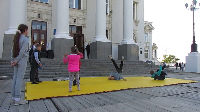 DT Sevastopol Kids. Детское Спортивное Шоу * Стремимся к большему *. 1