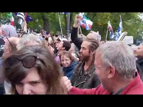 5 minutes au coeur d'un rassemblement à Québec