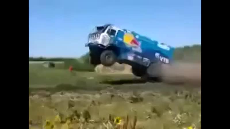 Rally Dakar 2015 Kamaz Jump Salto Espectacular