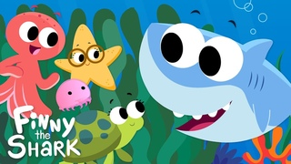 Down In The Deep Blue Sea   Kids Song   Finny The Shark