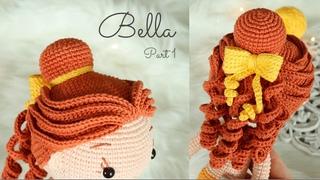 Princesa Bella Parte1 Cabello / Princess Belle Part1 Hair. Subtitled in English and Spanish