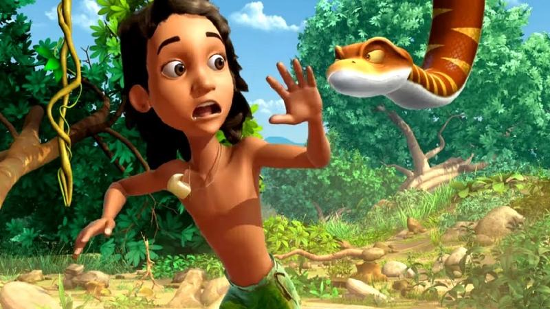 Маугли Книга Джунглей Все серии про то как Маугли спасает своих друзей мультфильм для детей