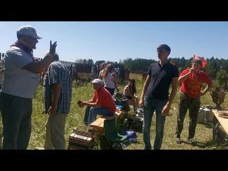 Беседа вовремя чаепития возле озера Кандрыкуль .