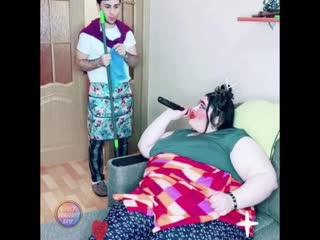 Милый а я у тебя не толстая?