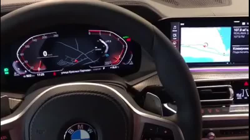 Новый BMW X6 Установка противоугонный системы в Авто Ателье АврорА