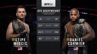 UFC 252 Free Fight: Stipe Miocic vs Daniel Cormier 1