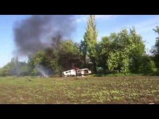 Волноваха: Военных могли расстрелять украинские вертолеты?