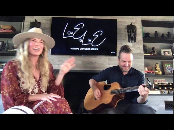 LeAnn Rimes Fancy LovE is Live Virtual Concert Reba McEntire Bobbie Gentry Cover