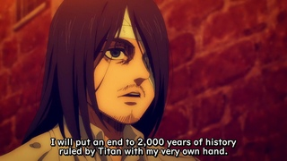 Eren Will Put an End to 2,000 Years of History