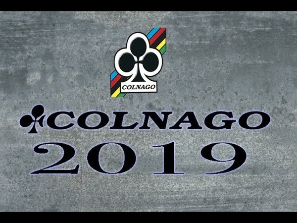 Colnago 2019 Colletion first look