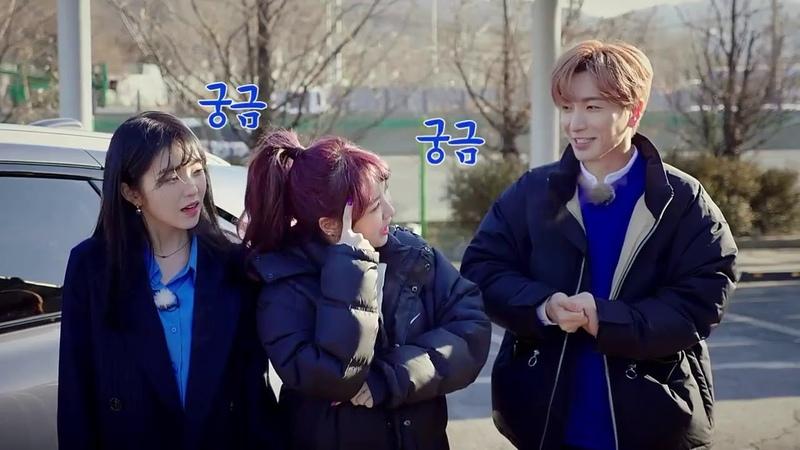 Cut 180301 Red Velvet Irene Wendy with Super Junior's Leeteuk Hyundai Self Driving Car