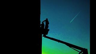 POKRAS LAMPAS AND SHONKGB 7 DAYS IN SPACE April 2021 Podlipki Korolev Russia