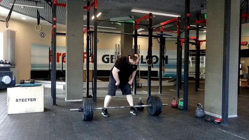 Доношение вырывание штанги 66 2 кг выбрасывание гири 40 кг Two hands anyhow 106 2 kg