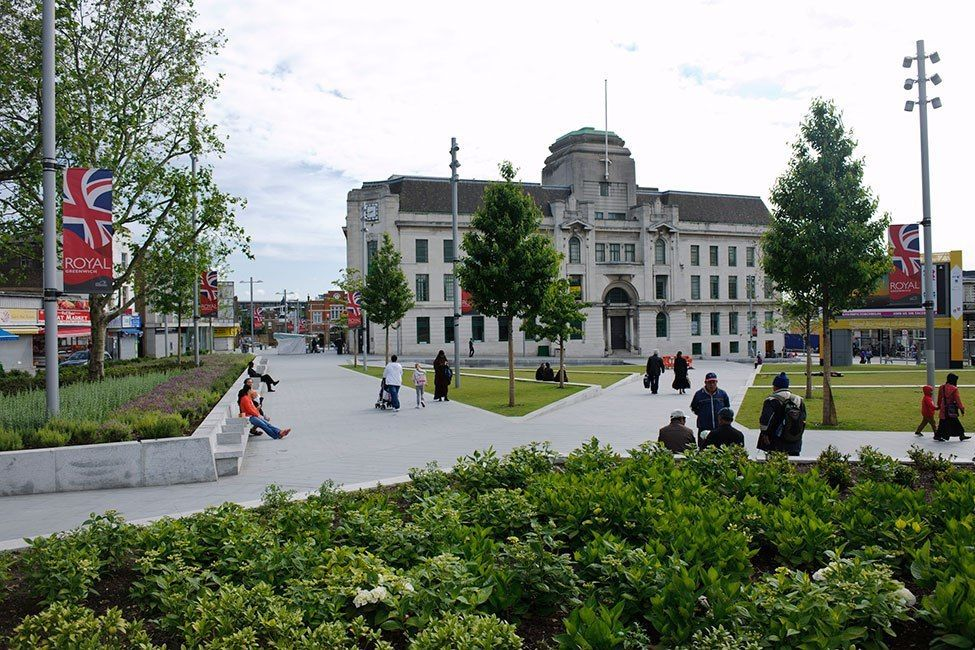 Woolwich Squares by Gustafson Porter