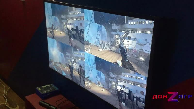 Call of duty Black Ops 4 в действии...