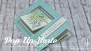 Pop Up Karte zur Hochzeit Besondere Kartenformen Tutorial Stampin' Up