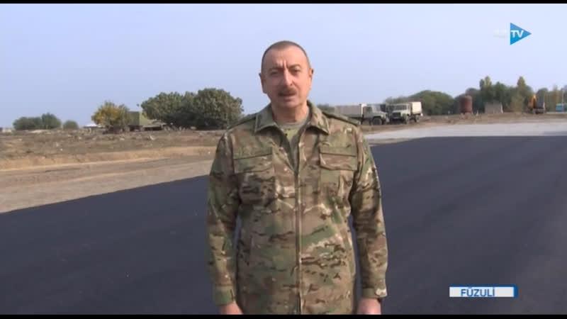Азербайджан начал строительство автомагистрали из Физули в город Шуша