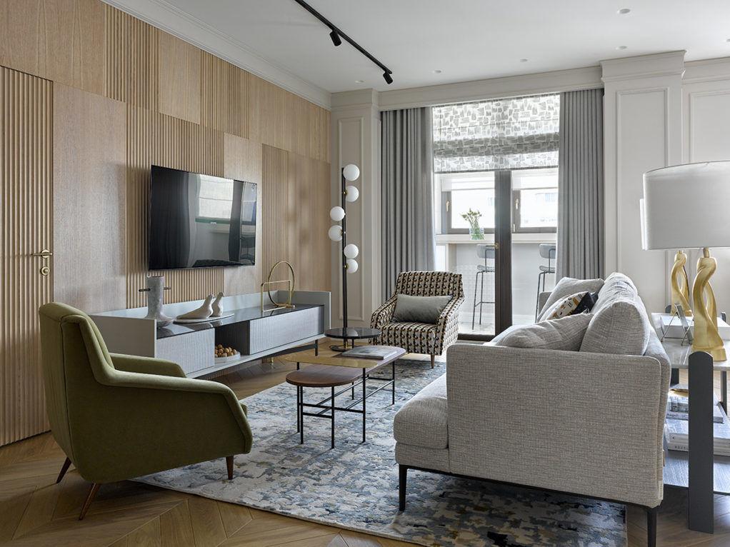 Квартира в центре Москвы, 150 м² от Ольги Солнышковой || 01