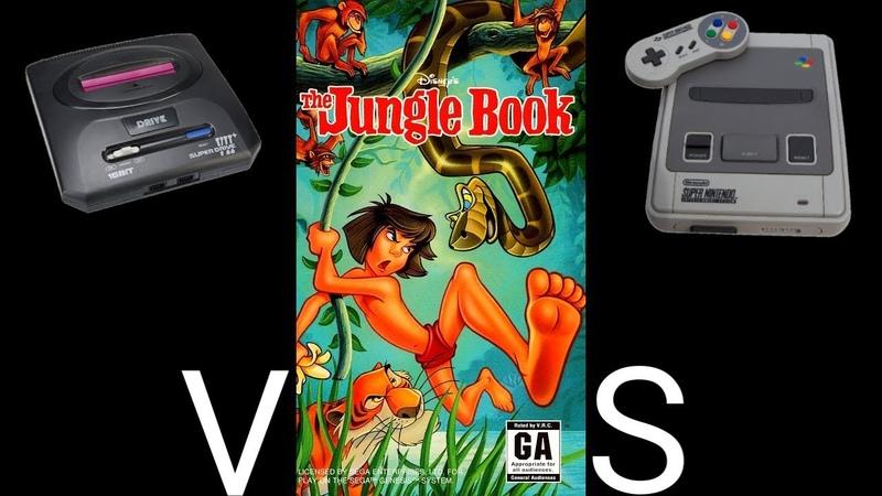The Jungle Book SMD VS SNES Сравнение