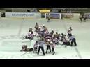 Детская драка в хоккее , жара на льду