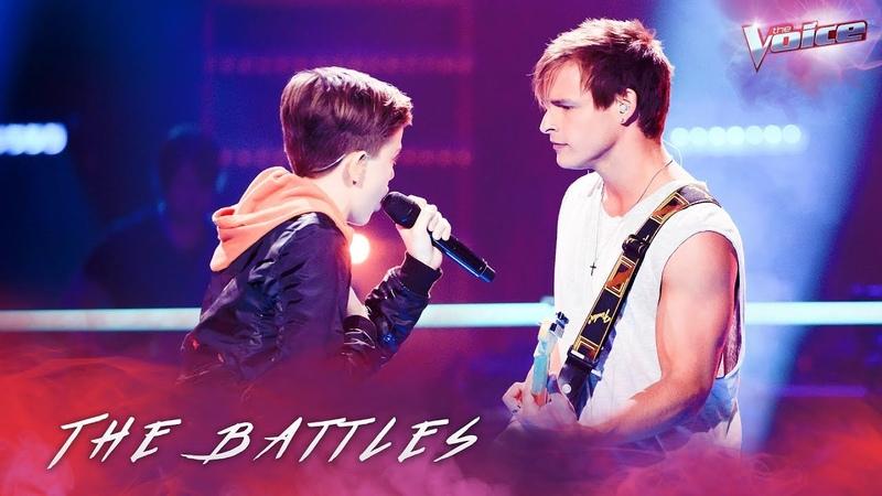The Battles Trent Bell v Josh Richards 'There's Nothing Holding Me Back' The Voice Australia 2018