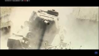 """Танковый бой из фильма """"Экипаж машины боевой""""(1983)"""
