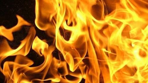 Сегодня ночью в частном секторе Петровска горела баня