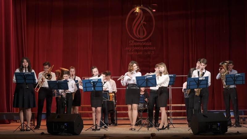 Отчетный концерт ДМШ 3 Артур Полонский Фокстрот Цветущий май