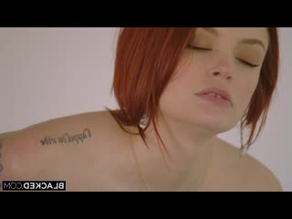 Bree Daniels [Big tits, Natural tits, Redhead, Blacked, Black&White, Interracial, Hardcore, Orgasm, Cumshot]
