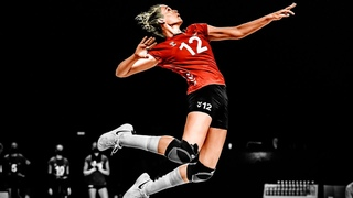 Perfect Spikes by Hanna Orthmann | Best Volleyball Actions | VNL 2021 (HD)