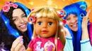 Видео с куклами - БЕБИ БОН в Салоне красоты Принцесс ДИСНЕЯ! - Игры для девочек одевалки и причёски