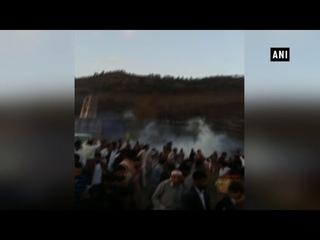 Watch: Pakistan Police open fire on peaceful protestors in PoK, 6 injured