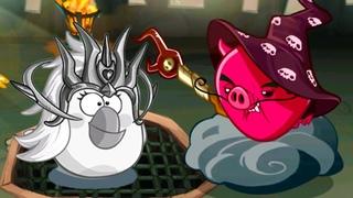 Энгри Бердс ЭПИК с Кидом #183 Замок Босса Демонического Свиномага в Angry Birds Epic на крутилкины
