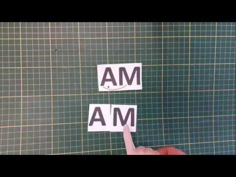 Учись читать, малыш! Шаг 4 2 1 Буквы А,М Слово АМ